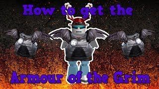 How to Get the Armour of the Grim | Roblox Medieval Battle Event