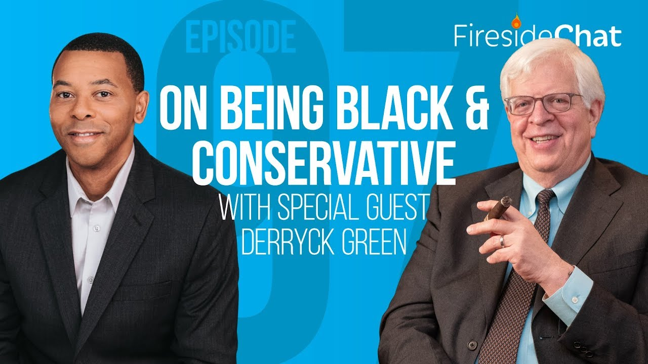 PragerU Fireside Chat Ep. 97 - On Being Black and Conservative With Special Guest Derryck Green