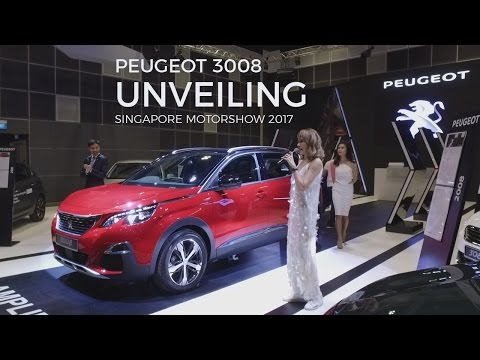 Unveiling Peugeot 3008 with Jade Seah - Singapore Motorshow 2017