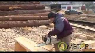 Wooden Houses India Manufacturer Round Log -- Maharaja Technology