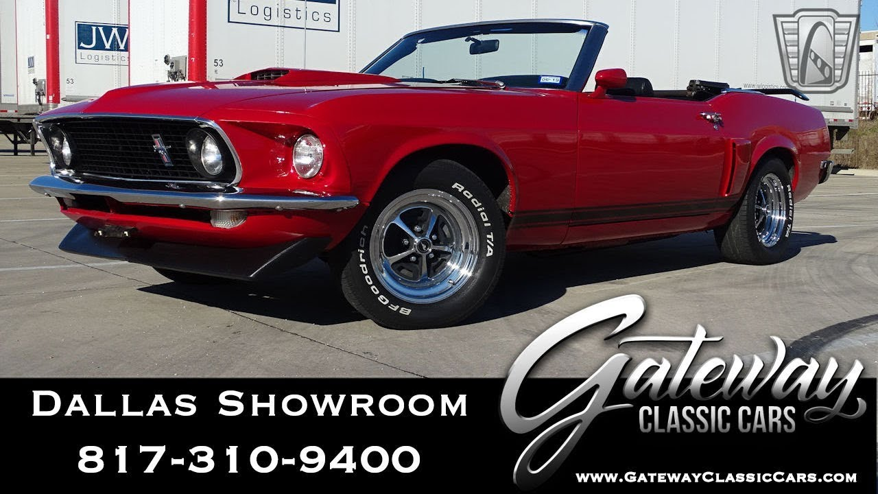 1969 Ford Mustang #925-DFW Gateway Classic Cars Dallas