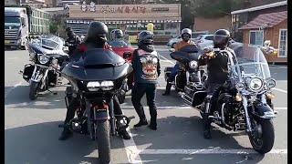 [바이크투어]할리데이비슨 초고가 여성라이더와 조폭아저씨? 출현-Harley-Davidson High-Rise Female Riders and Joppong-Azer