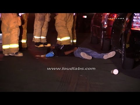 Homicide Investigation **Graphic** / South LA  RAW FOOTAGE