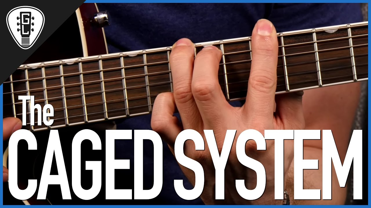 The Caged System Guitar Lesson Youtube