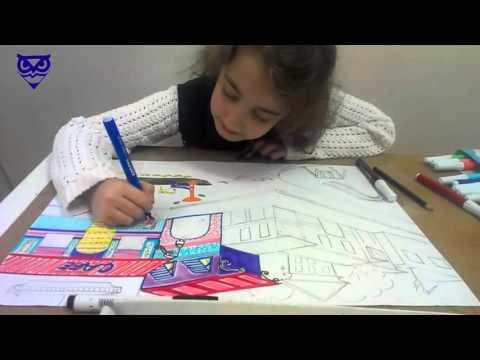 Çocuklar için Resim Dersleri 11 / Mimar Sinanlılar Resim Kursu