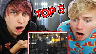 Top 5 Scariest Sam and Colby Moments