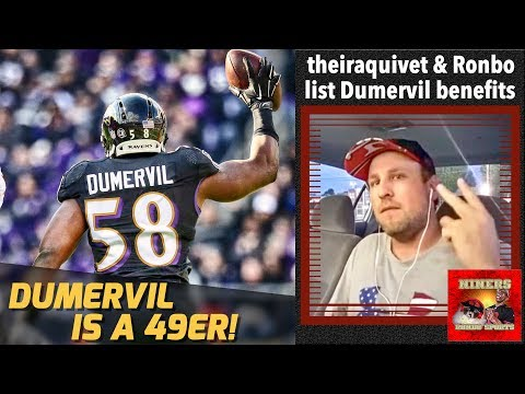 49ers Sign Elvis Dumervil! 49er Fans Optimism Is On The Rise!