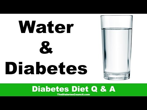 Is Drinking Lots Of Water Good For Diabetes?