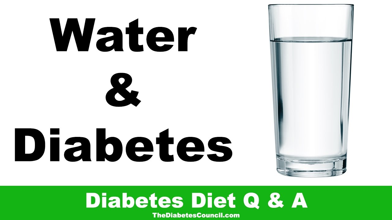 Drinking Water Helps Diabetes