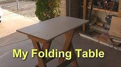 An Amazing Folding Table