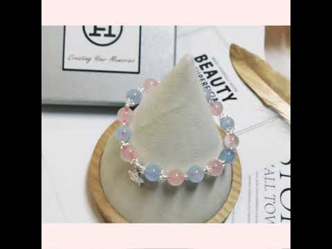 Shine Like A Star | Rose Quartz & Aquamarine