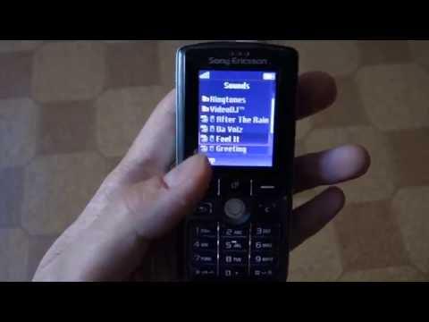 Sony Ericsson K750i ringtones
