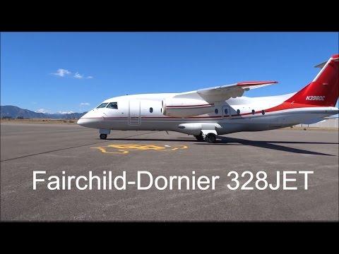 Dornier Do-328JET-310 - Engine Start, Taxi and Takeoff