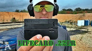 LifeCard .22LR Gun Review: Trailblazer Firearms Range Review