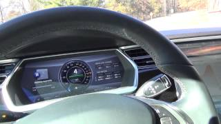 Tesla Motors Model S: Explained: How the Shiftier and Auto-Park Brake work. thumbnail