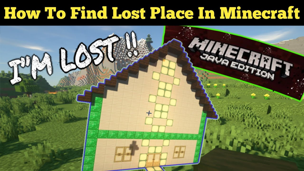 I lost my house in minecraft