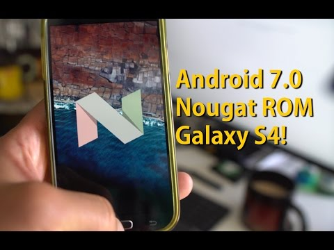 Android 7.0 Nougat ROM For Galaxy S4! [JDCTeam]