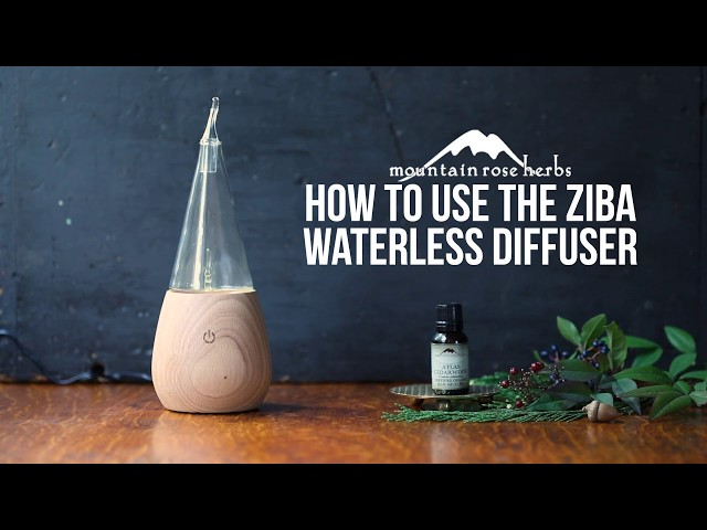 How to Use the Ziba Waterless Diffuser (for Essential Oils)