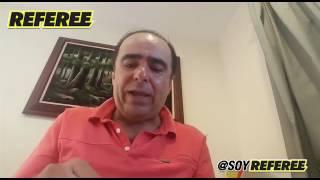 México tuvo mucha suerte vs Rusia en Confederaciones - David Medrano en REFEREE