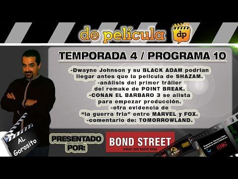 DE PELICULA - programa de TV de cine - Shazam / Tomorrowland / Marvel Vs Fox / remake de Point break