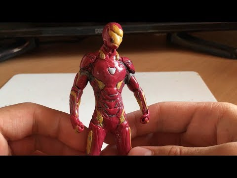 Железный человек из пластилина!!!