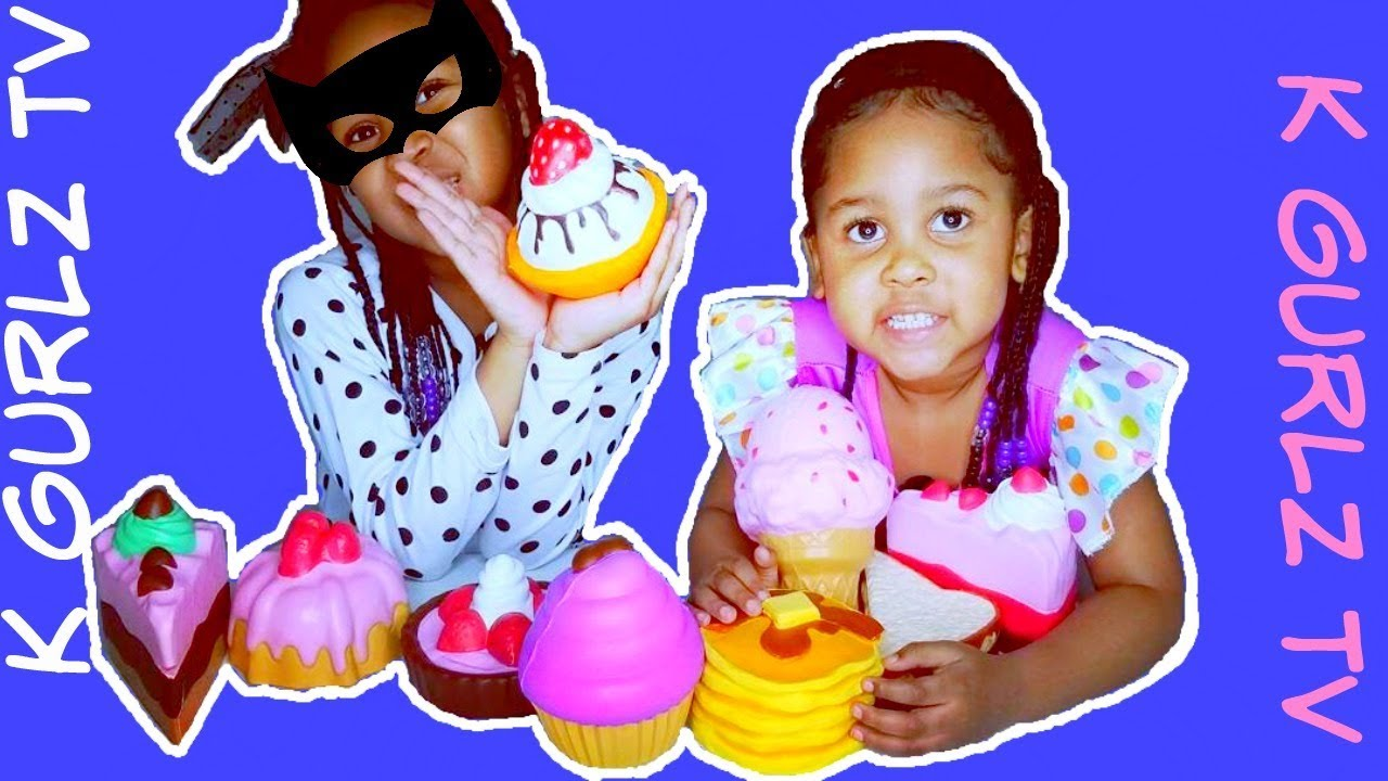 Download Guess the Squishy Toys Challenge 😎(kgurlz tv) Cheaters