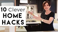 10 Clever Home Hacks | Interior Design