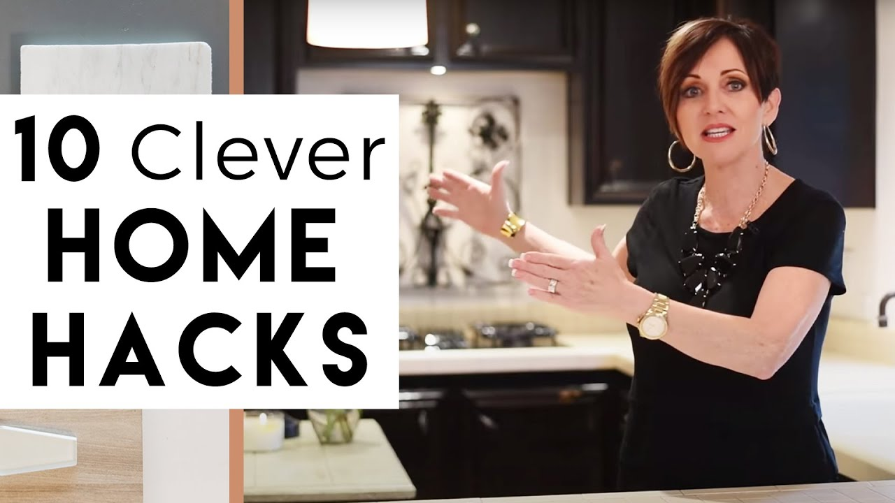 10 Clever Home Hacks Interior Design YouTube