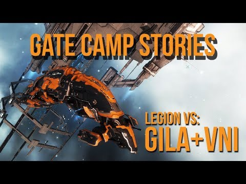 EVE Online: Gate Camp Stories: Outnumbered But Not Outplayed