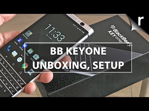 BlackBerry KeyONE Unboxing, Setup and Hands-on Review