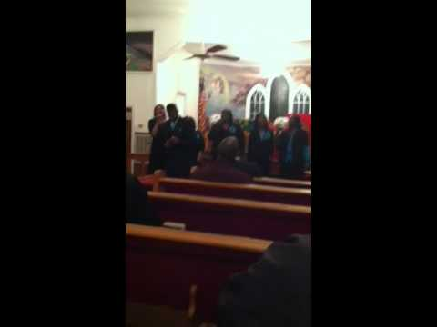 Dr Rev Ralph Poppy Brown Singing I'm Yours Lord Live Oak