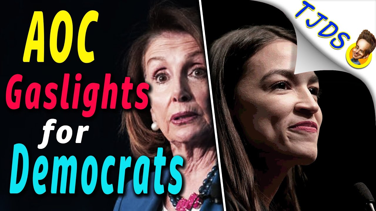 AOC Gaslights For Democrats Over COVID Bail-Out.