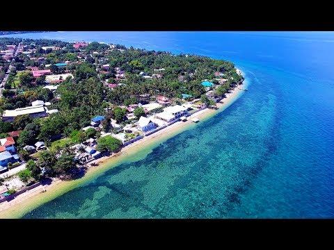 Aerial Drone Dalaguete Cebu Island Coastline Blue Waters Family Reunion 2016 [DJI Phatomn 3 HD]
