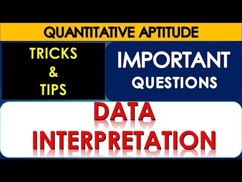 Data Interpretation For Bank Exam SBI PO || SSC||CGL|| How To Crack SBI PO || DI Problems