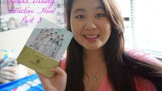 Korean Beauty Collective Haul ( The Face Shop, Etude House , Nature republic,etc) Part 3