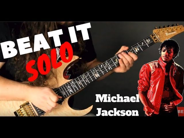 Michael Jackson | BEAT IT - Solo Cover Zachary Adkins