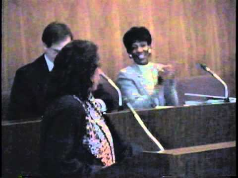 Detroit City Council Hearing on CIA and Drug Smuggling, Part 1