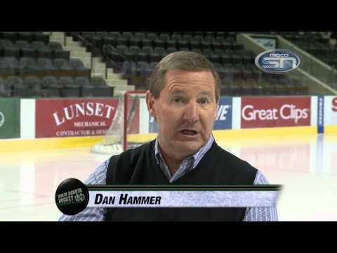 North Dakota Hockey with Dave Hakstol 11.4.14
