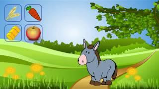 Чем питаются животные-Развивающие видео