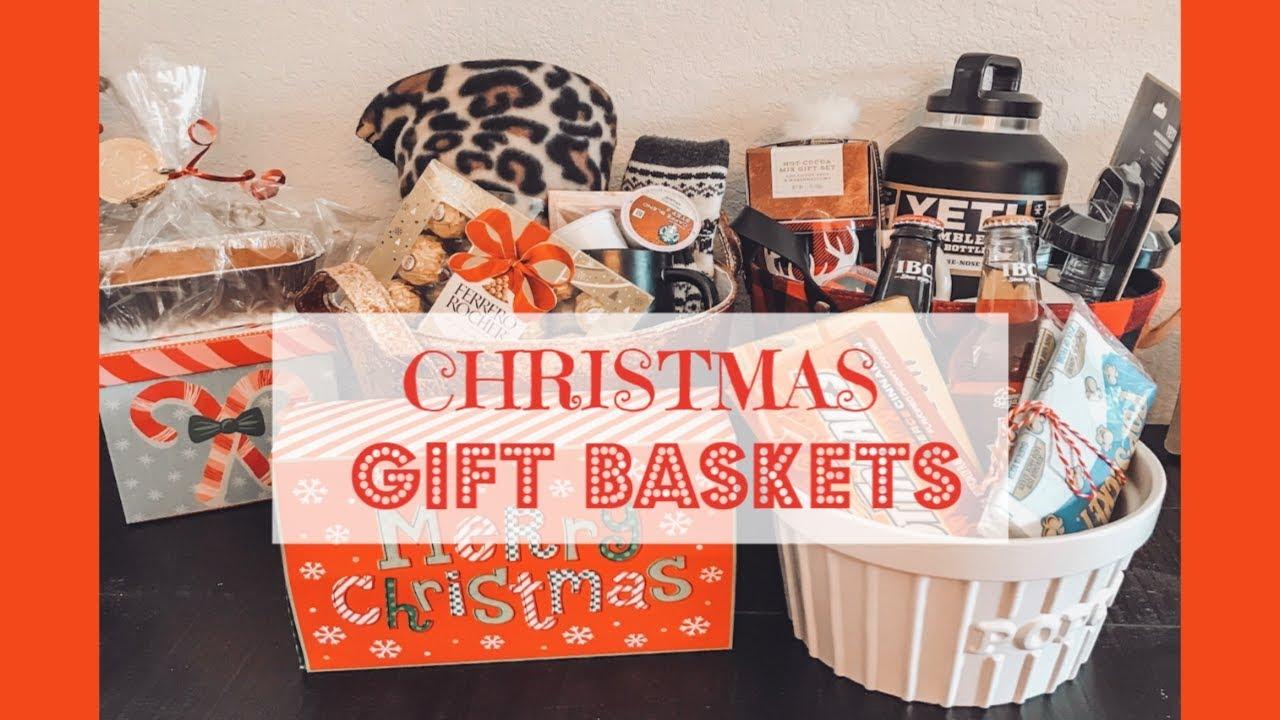 Easy Diy Christmas Gift Basket Ideas