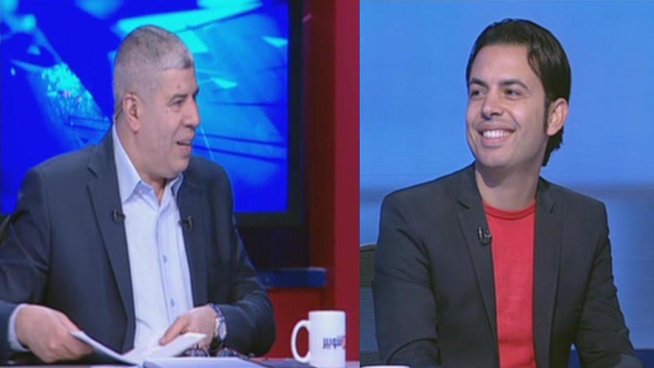 لقاء الصحفي شريف جمعة مع شوبير وتصريحات قوية