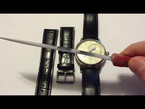 Замена ремешка на часах в домашних условиях (Watch strap changing)