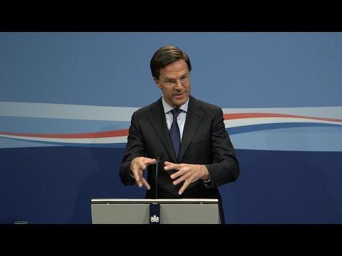 Integrale persconferentie MP Rutte van 20 april 2018