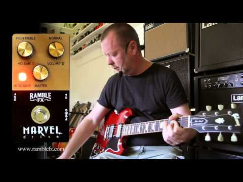 Ramble FX : Marvel Drive - demo - SG and S-Style