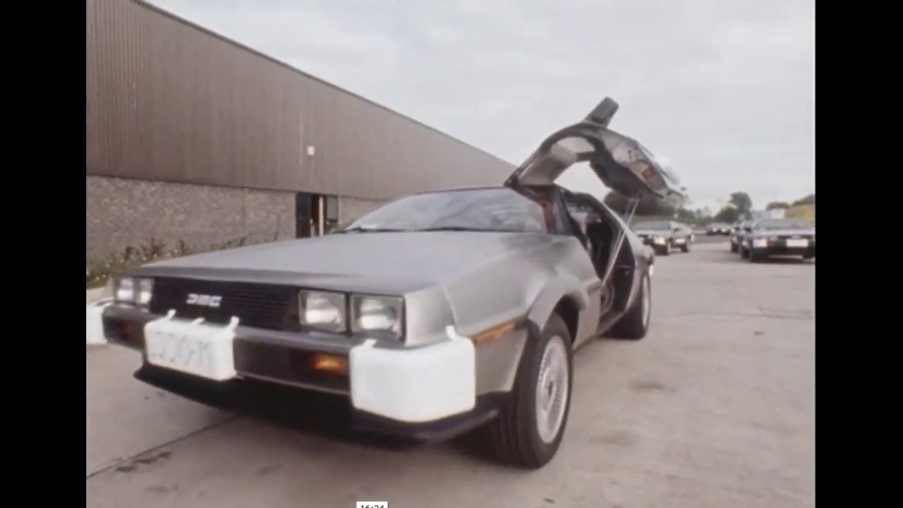 Belfast Delorean First Cars Made Loaded & Shipped To America 1981 ...