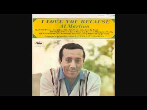 AL MARTINO  I LOVE YOU BECAUSE 1963