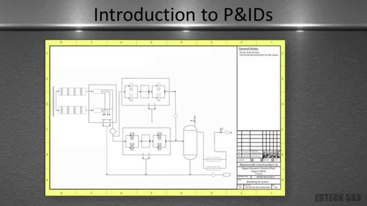 piping and instrumentation diagrams powerpoint video, wiring diagram