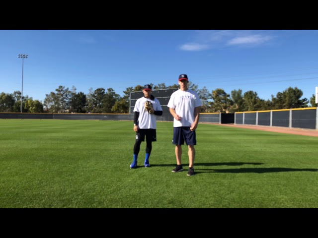 Outfield Fly Ball Progression Drill