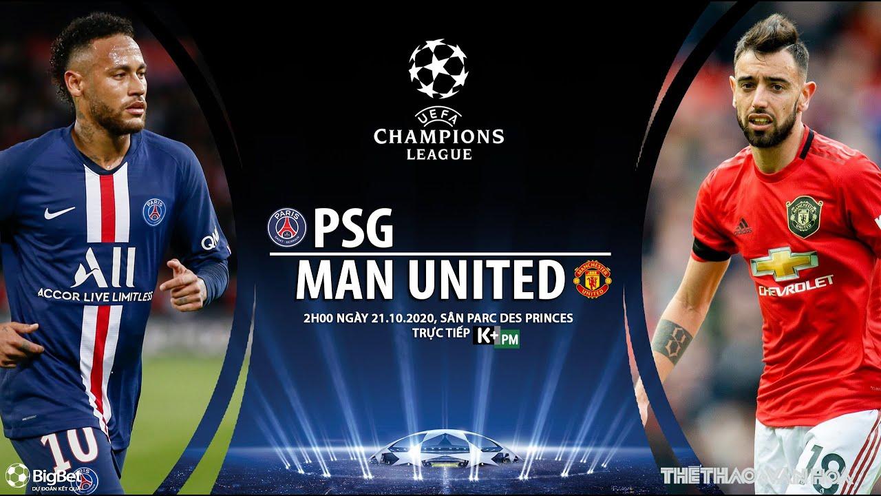 [SOI KÈO BÓNG ĐÁ] PSG – Man United (2h00 ngày 21/10). Vòng bảng Cúp C1 châu Âu. Trực tiếp K+PM