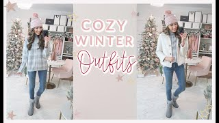 JCPENNEY WINTER TRY ON HAUL | 3 COZY WINTER OUTFITS 2019